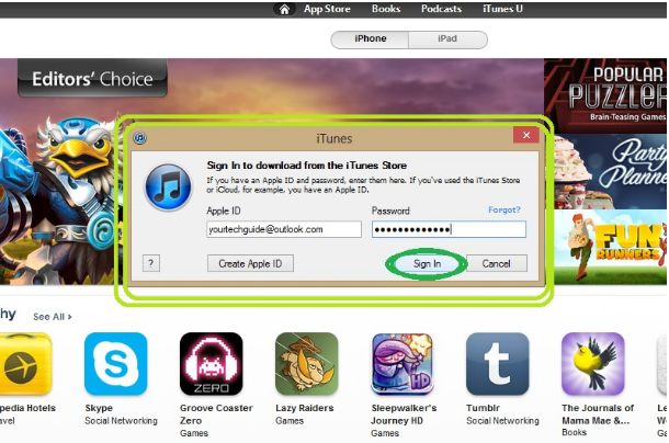 itunes store account without credit card