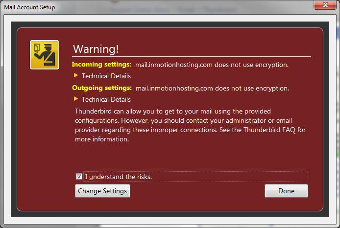 encryption-warning